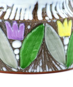Laholms Keramik - Keramikkrus 6 av Berit Davidsson detalj
