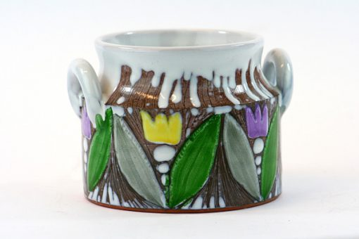 Laholms Keramik - Keramikkrus 6 av Berit Davidsson helhet