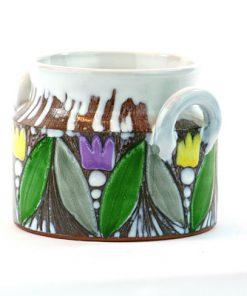 Laholms Keramik - Keramikkrus 6 av Berit Davidsson sida