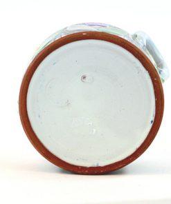 Laholms Keramik - Keramikkrus 6 av Berit Davidsson undersida