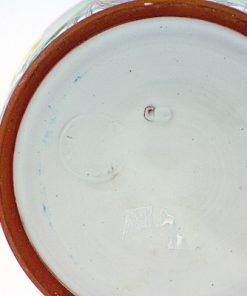 Laholms Keramik - Keramikkrus 6 av Berit Davidsson detalj stampel