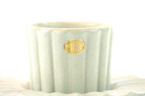 Skal & fat av Jerk Werkmaster for Nittsjo Keramik detalj folie etikett