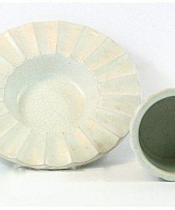 Skal & fat av Jerk Werkmaster for Nittsjo Keramik insidor