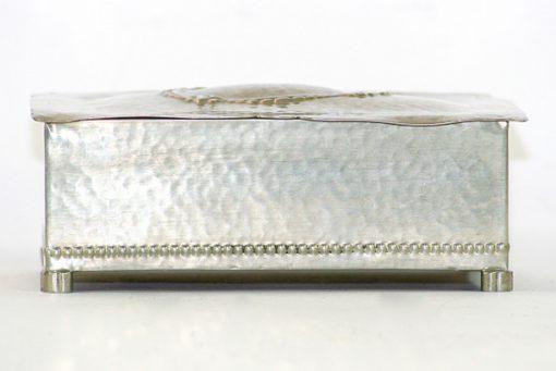 Tennskrin Art déco med lock for kortlek eller smycken