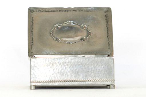 Tennskrin Art déco med lock for kortlek eller smycken lock