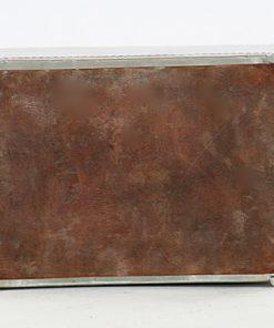 Tennskrin Art déco med lock for kortlek eller smycken undersida