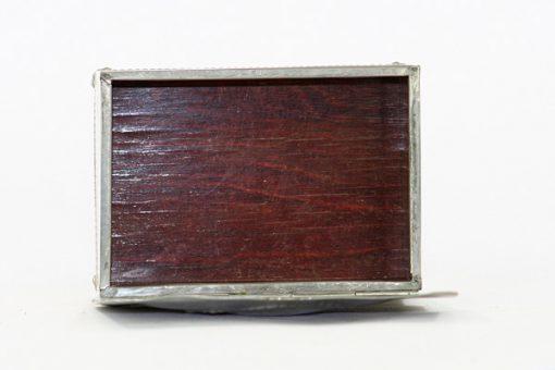 Tennskrin Art déco med lock for kortlek eller smycken trainredning