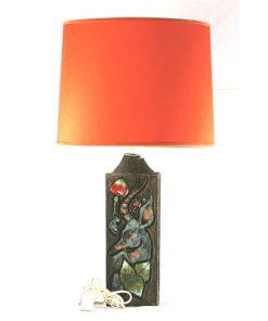 Eivor Larsson Tilgmans Keramiklampa stor med hjort