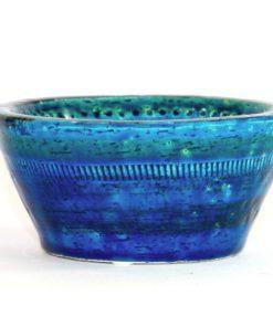 Bitossi Rimini Blue keramikskal design Aldo Londi helhet