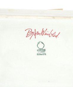 Bjorn Wiinblad fat 3104-275 med kanter Nymolle detalj undersida