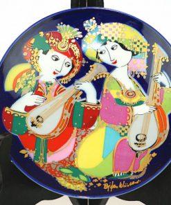 Bjorn Wiinblad Rosenthal Orientalische Nachtmusik narbild helhet