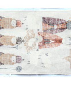 Retro bonad Jesus fodelse - Tre vise mannen vepa baksida