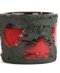 Marei flower pot - Fat Lava ytterfoder Marzi & Remy