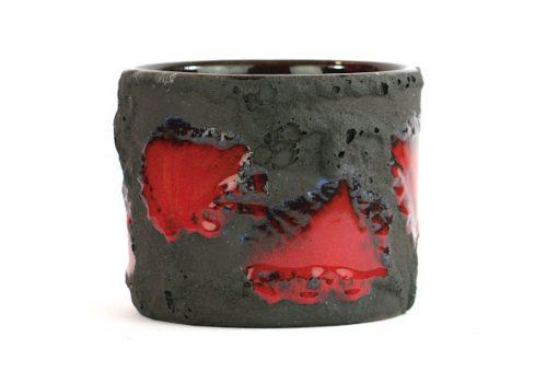 Marei flower pot - Fat Lava ytterfoder Marzi & Remy