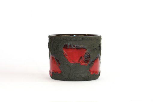 Marei flower pot - Fat Lava ytterfoder Marzi & Remy helhet