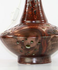 Bordslampa Walter Gerhards 215/40 dubbla lampor detalj