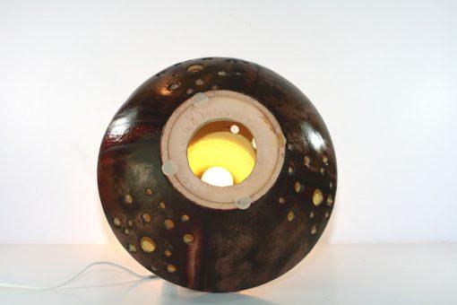 Bordslampa Walter Gerhards 215/40 dubbla lampor undersida