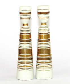 Bjorn Wiinblad ljusstakar Rosenthal Quatre Col Studioline a pair