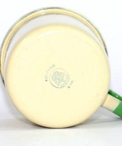 Kockums emaljmugg - Cream Lux mugg 9 cm undersida
