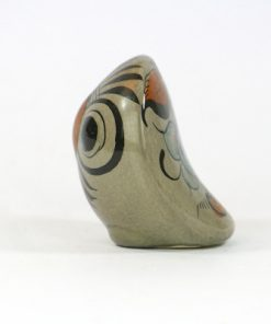 Tonala Keramik - Figurin uggla från Jalisco Mexico sida1