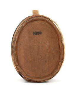 IWSO brannvins-stanka kagge bomarke antik 1800-tal helhet