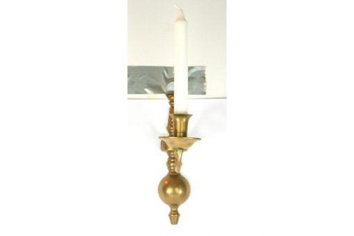 Vaggljusstake av massing – Barockstil for kronljus med kronljus