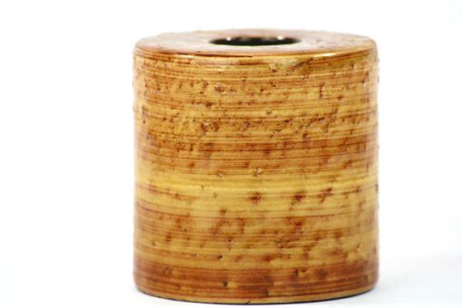 Nittsjo Sweden 2665-NI Keramikvas i cylinder-form detalj