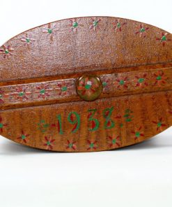 Svepask 1938 – Kankask, aska med adrings-malning ovansida