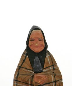 C O Trygg tragumma trafigur med kjol och huckle detalj ansikte