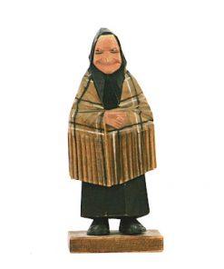 C O Trygg tragumma trafigur med kjol och huckle helhet