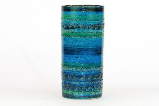 Bitossi Rimini Blu cylindervas 43130/920 stor Aldo Londi helhet