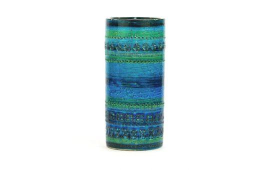 Bitossi Rimini Blu cylindervas 43130/920 stor Aldo Londi sida