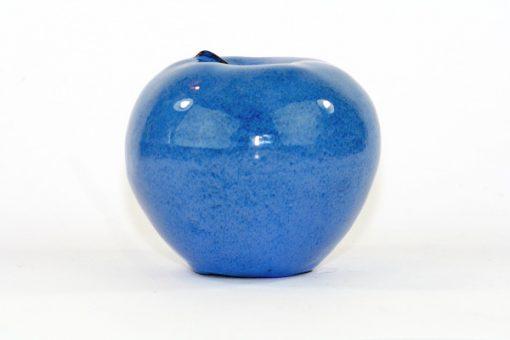 Blatt keramik-apple - Bla-sprackligt unikt fint apple sida