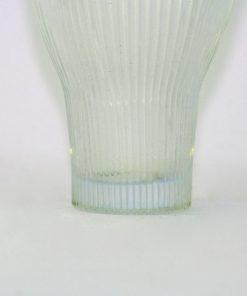 Bilden visar Gullaskruf Reffla Arthur Percy – vas handblåst glas nederdel