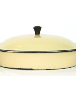 Kockums Cream Lux 482 - Emalj klassisk karott helhet