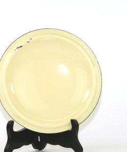 Kockums Cream Lux 482 - Emalj klassisk karott insida lock