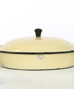 Kockums Cream Lux 482 - Emalj klassisk karott framsida stampel