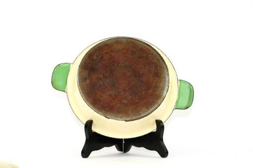 Kockums Cream Lux 482 - Emalj klassisk karott undersida