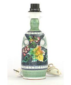 Lampa Tilgmans Keramik pastell vinranka och druvklase helhet