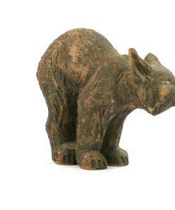 Tilgmans lodjur figurin mycket ovanlig Kerstin Gronvall helhet