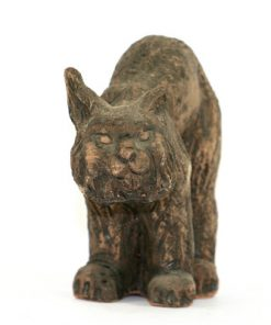 Tilgmans lodjur figurin mycket ovanlig Kerstin Gronvall framsida