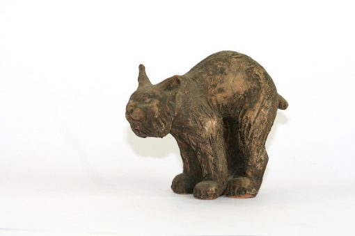 Tilgmans lodjur figurin mycket ovanlig Kerstin Gronvall sida