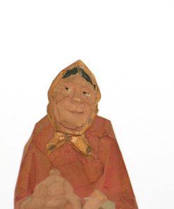 Bild av Nils Gunnarsson trägumma med kaffepetter ansikte