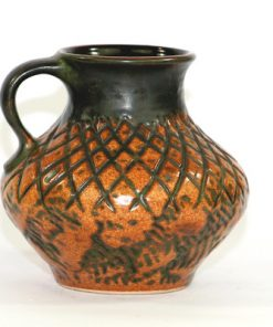 Bilden visar Jasba keramik N31413-12 - Vas Fat Lava 1970-tal helhet