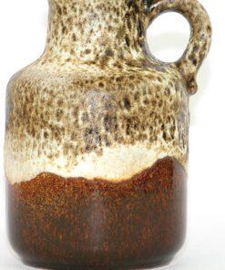 Bilden visar Scheurich 414-16 Europ - Vas Fat Lava keramik detalj glasyr