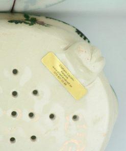 Tvålkopp keramik handgjord tvål – Bollnäs Birch undersida etikett