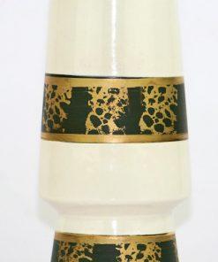 Bilden visar Bay Keramik detalj guldbård
