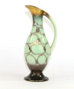 Bilden visar Bay Keramik 523/25 kanna pastell-grön och guld