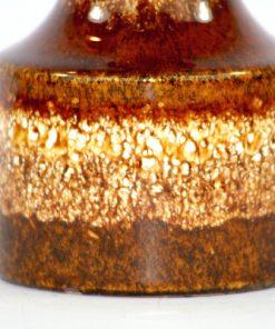 Bilden visar Scheurich 550-10 vas - Fat Lava keramik spräcklig detalj glasyr