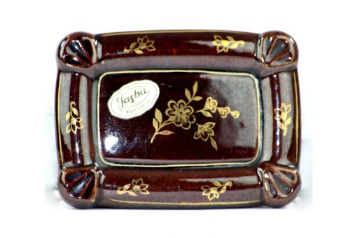 Bilden visar Jasba keramik ask skrin – Germany 33 trinket box